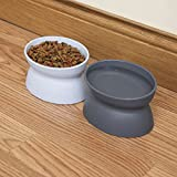 Kitty City Raised Cat Food Bowl