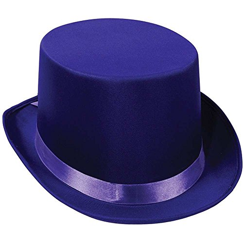 Satin Sleek purple Party Accessory