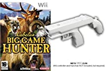 Cabela's Big Game Hunter with Wii Gun