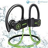 Best Bluetooth Sport Earbuds - ANBES Bluetooth Headphones Wireless Earbuds, IPX7 Waterproof in-Ear Review