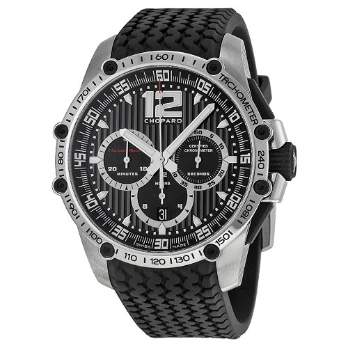 Chopard Men's 168523-3001 Classic Racing Black Dial Watch