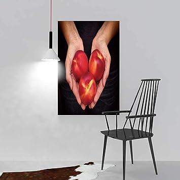 SOCOMIMI Malerei Wohnzimmer Dekoration Rahmenlose Frau A In Hand Auf Holz Hintergrund  Wohnzimmer Büro Decor Geschenk
