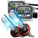 Genssi 5202 PS24WFF 9009 8000K HID Kit Xenon Fog Conversion Kit