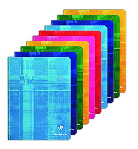 Clairefontaine 63741C Schulhefte Seyes 17x22 96 Seiten 10er Pack