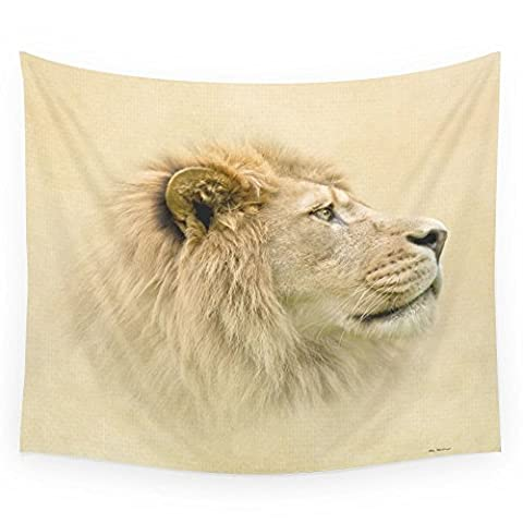 Society6 Lion II Wall Tapestry Large: 88