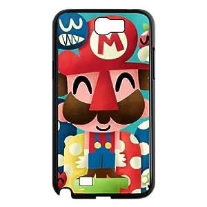 Super Mario Bros Samsung Galaxy N2 7100 Cell Phone Case Black wotl