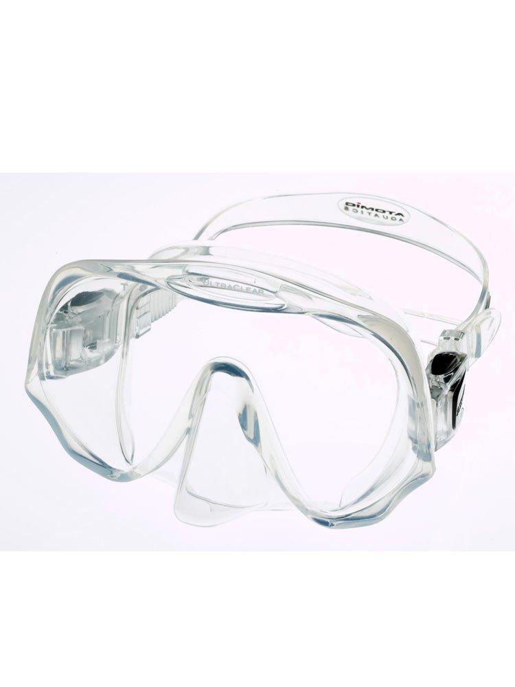 Atomic Aquatics Frameless Scuba Diving Dive Mask, Clear Medium (Smaller Faces) by Atomic Aquatics