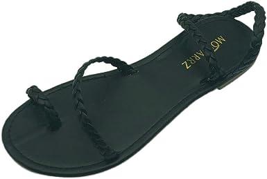 CSSD Ladies Fashion Flats Flip Flops Shoes Beach Roman Sandals Womens Retro Leather Slippers