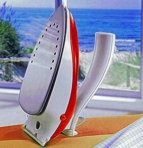 Reisebügeleisen mit klappbarem Griff und Dampffunktion 800W
