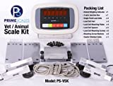 Prime Scales Vet Scale Kit to Build or Repair Vet Scales / Animal Scales