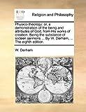 Physico-Theology, W. Derham, 1140798987