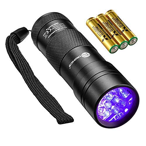 TaoTronics Black Light, 12 LEDs 395nm UV Blacklight