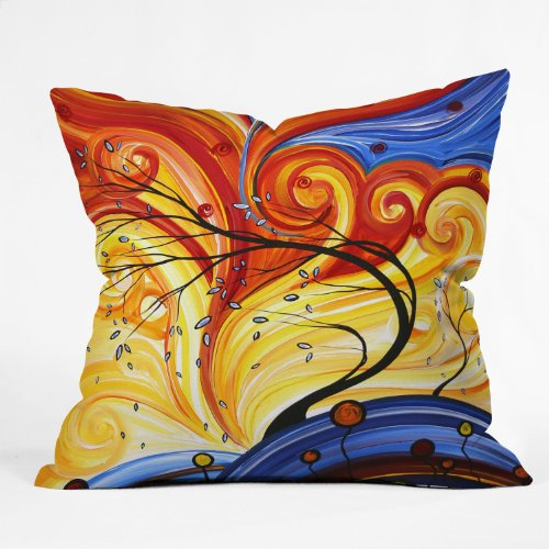 DENY Designs Madart Inc. Whirlwind Throw Pillow, 20 x 20