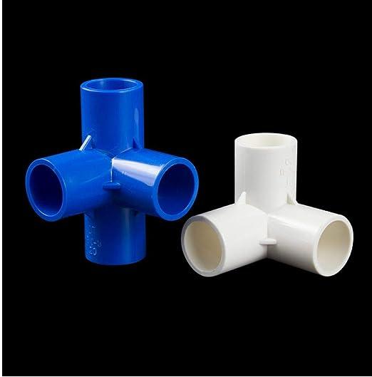 Herramienta de Bricolaje de riego Conectores de Agua 1PC Accesorios de tubería de PVC Inicio Jardín: Amazon.es: Hogar