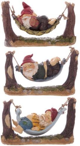 Cheeky Snoozing Nain de jardin hamac et cartes cadeaux ...