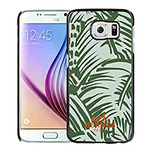 Unique Samsung Galaxy S6 Case ,Hot Sale And Popular Designed Case With Hermes 18 Black Samsung Galaxy S6 Cover Phone Case