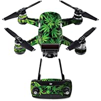 Skin for DJI Spark Mini Drone Combo - Weed| MightySkins Protective, Durable, and Unique Vinyl Decal wrap cover | Easy To Apply, Remove, and Change Styles | Made in the USA