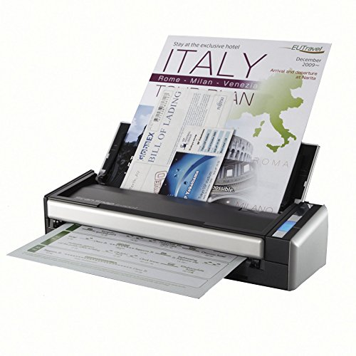 Fujitsu ScanSnap S1300i Portable Color Duplex Document Scanner for Mac and PC (Renewed) (Fujitsu Scansnap S1300i Scanner)