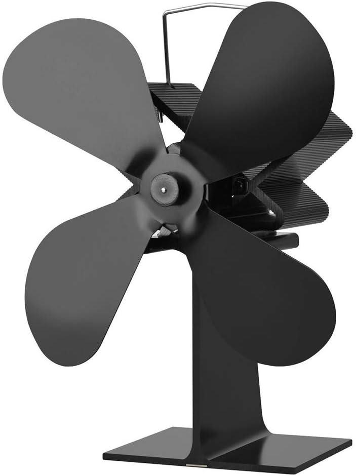 AMZ BCS Chimenea Ventilador Silenciado Calor Circulación Ventilador Termo soplador Fortalece la convección del Aire Interior Incrementa Las Estufas de Aire Caliente Circula
