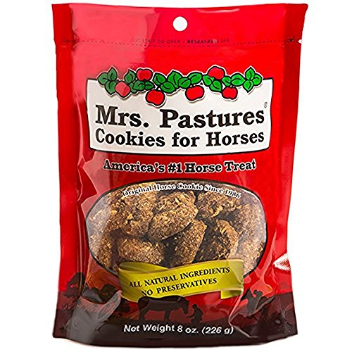 (Mrs. Pastures Cookies for Horses 8 oz bag)