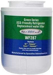 AquaFresh Replacement Filter for GE MWF / WF287 (Single Pack) Refrigerator Water Filter Aqua Fresh