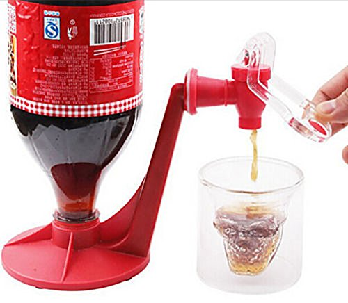 MONOMONO-Drinking Soda Gadget Kitchen Tools Coke Party Drinking Dispenser Water - Mall Beach Vero