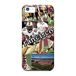 Hot San Francisco 49ers First Grade Tpu Phone Case For Iphone 5c Case Cover
