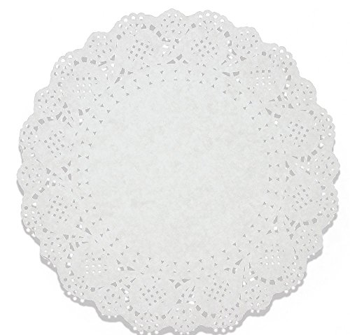 Lace Doilies Paper - Doily Paper Table Runner Cake Box Liner, 10.5 Inches - 250 Pack