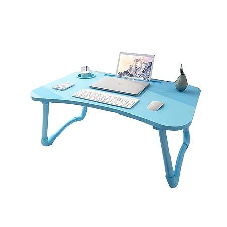 ZZHF Mesa, Mesa Plegable De Cama, Escritorio para Laptop, Mesa De ...