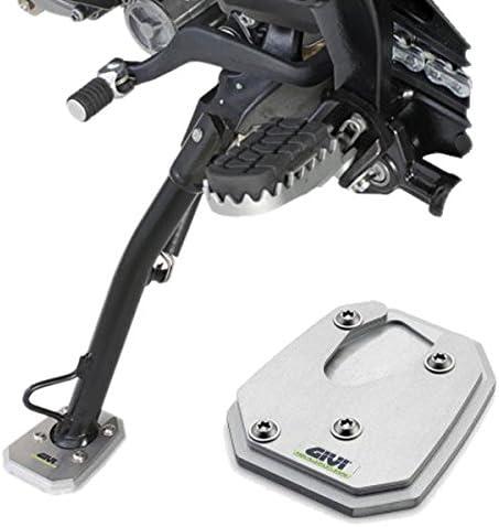 Fydun Cuscinetto di prolunga del cavalletto laterale Staffa laterale allargata di prolunga del cavalletto laterale in alluminio CNC per motocicletta Ingranditore adatto per Tiger 800 2013