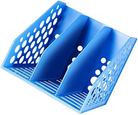 Datei Racks 3 Typ Dokumentenablagekorb Ablagefach Dokumentenhalter Büromaterial Kunststoff Dreifach Datei-Halter-Desktop