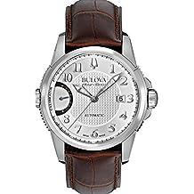Bulova Men's 63B171 Mechanical-Hand-Wind Silver Watch