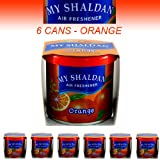 My Shaldan Air Freshener Orange Scent (D41OR) - QTY. 6 Cans