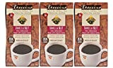 Teeccino Vanilla Nut Chicory Roasted Herbal Tea, Caffeine Free, Acid Free, Coffee Substitute, Prebiotic, 25 Tea Bags (Pack of 3)