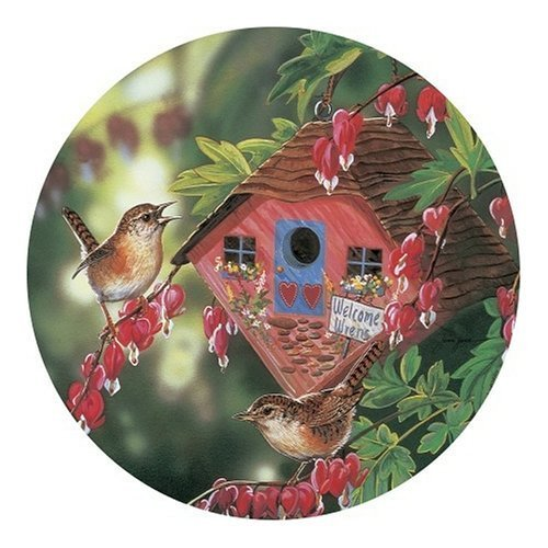 Master Pieces Welcome Wrens Round 500 Piece Jigsaw Puzzle by Master Pieces