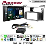 Pioneer AVIC-5201NEX Double Din Radio Install Kit with Navigation Apple Carplay Bluetooth Fits 2010-2013 Toyota 4Runner with Amplified System