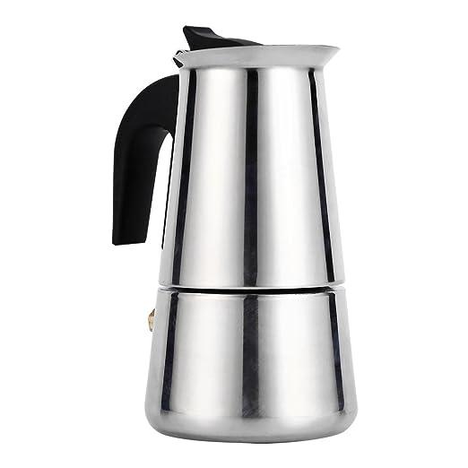Cafetera para hacer espresso, cafetera italiana reutilizable de ...