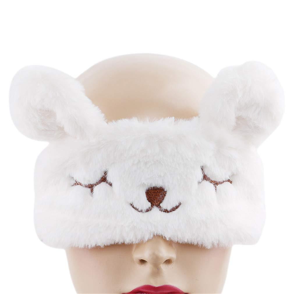 Essencedeligh Sleep Mask Eye Mask with Elastic Strap Super Soft Eye Mask for Sleeping Travel for Women