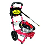 Warrior Tools WR67160 2200 psi 2.0 GPM 141cc Cold Water Gas Pressure Washer, Red