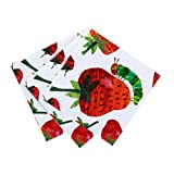 World of Eric Carle, The Very Hungry Caterpillar Party Supplies, Napkins, Paper, 20 Pack