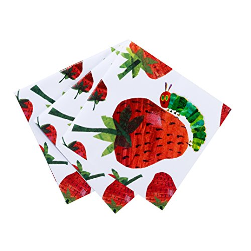 World of Eric Carle, The Very Hungry Caterpillar Party Supplies, Napkins, Paper, 20 -