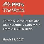 Trump's Gamble: Mexico Could Actually Gain More From a NAFTA Redo | Jason Margolis