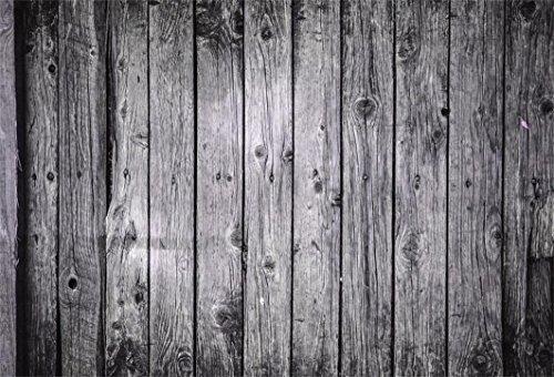AOFOTO 5x3ft Grunge Old Wooden Floor Pattern Photography Backdrop Aged Vintage Wood Board Textured Background Rustic Hardwood Panel Rural Fence Photo Studio Props Vinyl Wallpaper