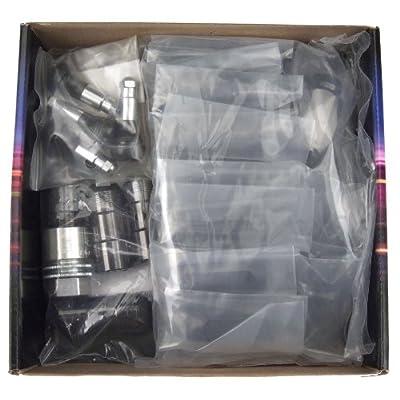 McGard 84640 Black Cone Seat Wheel Installation Kit for 6 Lug Vehicles (M14 x 1.5 Thread Size): Automotive