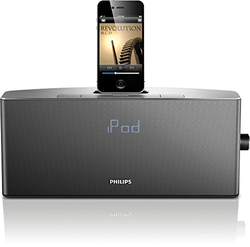 Philips AJ7035D/37 App-enhanced Aluminum Docking System for iPod and iPhone (Discontinued by Manufacturer) by Philips