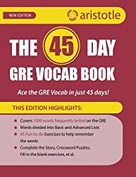 The 45-Day GRE Vocab Book: Ace the GRE vocab in 45 days