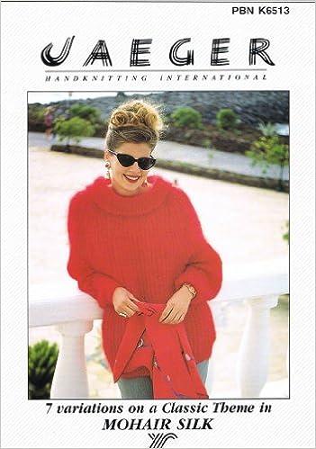 Jaeger Ladies Knitting Pattern Booklet K6513 7 Variations On A