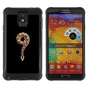 Suave TPU GEL Carcasa Funda Silicona Blando Estuche Caso de protección (para) Samsung Note 3 / CECELL Phone case / / meaning evil religion Adam eve god snake /