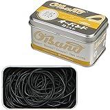 共和 オーバンド シルバー缶 30g #16 ブラック GG-040-BK 輪ゴム