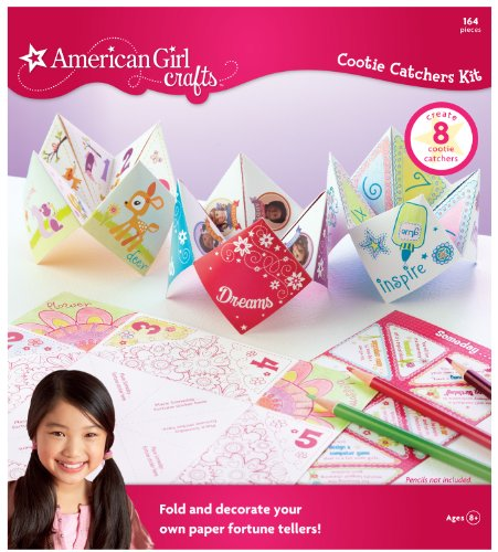 American Girl Crafts Cootie Catcher